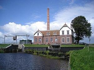 Lemsterland - Pumping station in Echten
