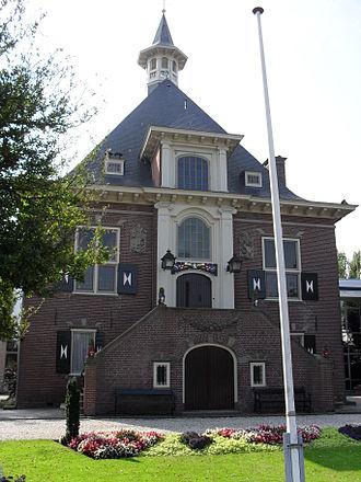 Halfweg - Town hall of Haarlemmerliede en Spaarnwoude in 2010