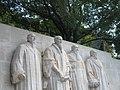 Genève - Reformation monument - Mur des Réformateurs - panoramio - Rokus Cornelis (9).jpg