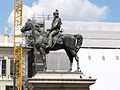 Genova-statua equestre Giuseppe Garibaldi.jpg