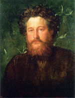 George Frederic Watts, William Morris, 1870.