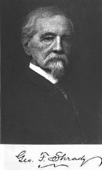 George Frederick Shrady Sr. - Shrady circa 1880