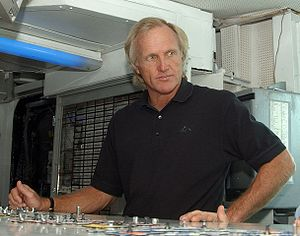 BBC Overseas Sports Personality of the Year - Greg Norman received the award twice