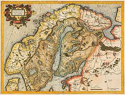 Gerhard Mercator-Svecia et Norvegia cum confinys 1595.jpg