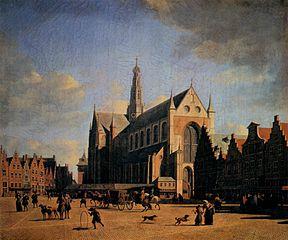 The Great Market (Grote Markt) in Haarlem