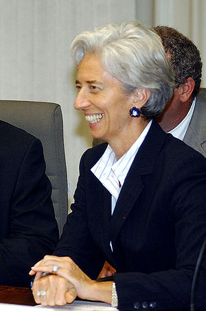 Ministers Gestao and Lagarde