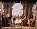 Giambattista tiepolo, il banchetto di cleopatra, 1742-43, 02.JPG