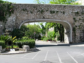 Southport Gates - Image: Gibraltar Referendum Gates (Southport Gates) 02