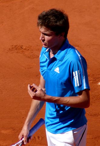 Gilles Simon - Simon during the 2009 French Open