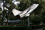 Gioia Del Colle preserved F-104 Starfighter, F-86 (27450522382).jpg