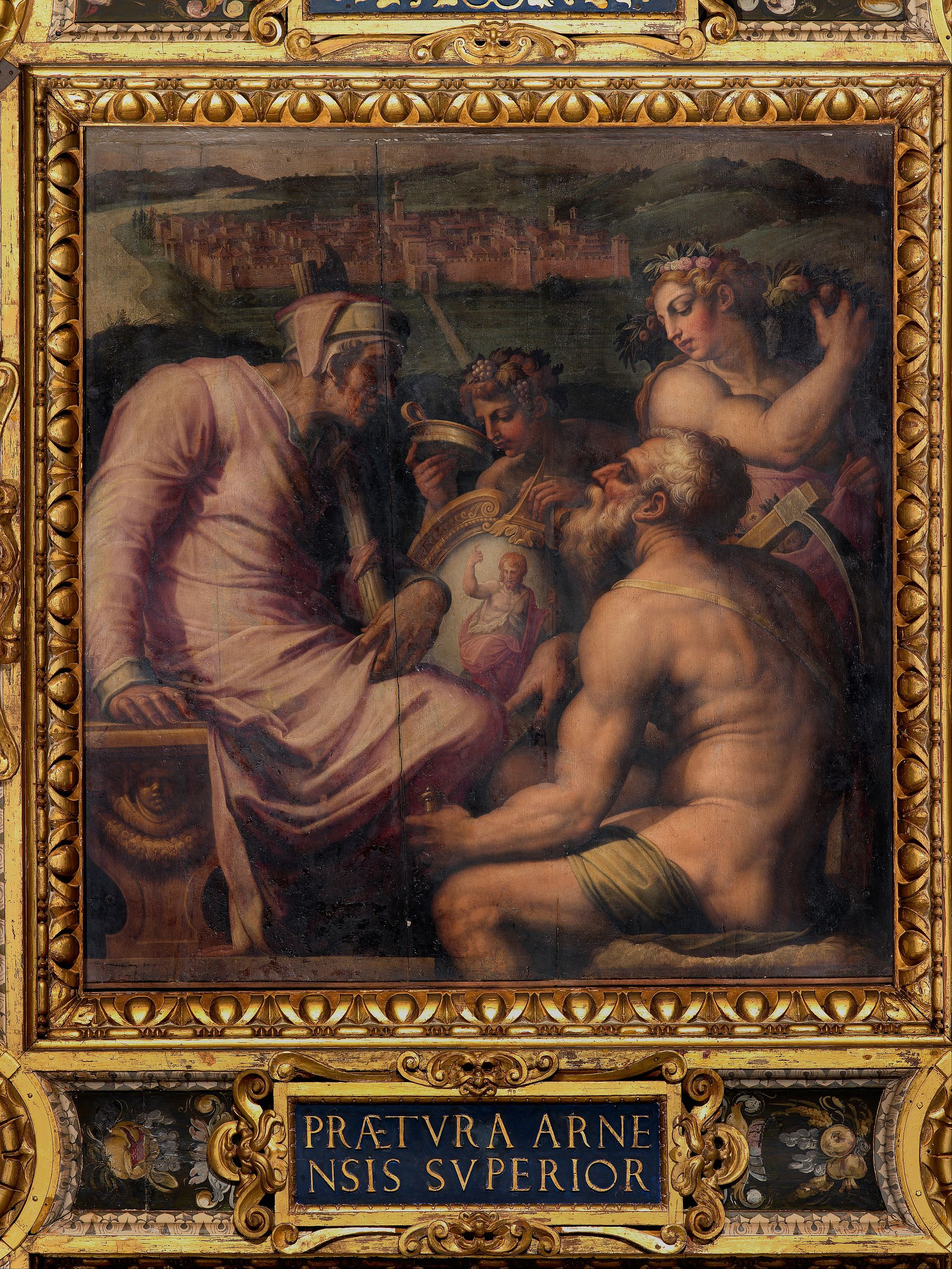 Giorgio Vasari - Allegory of San Giovanni Valdarno - Google Art Project