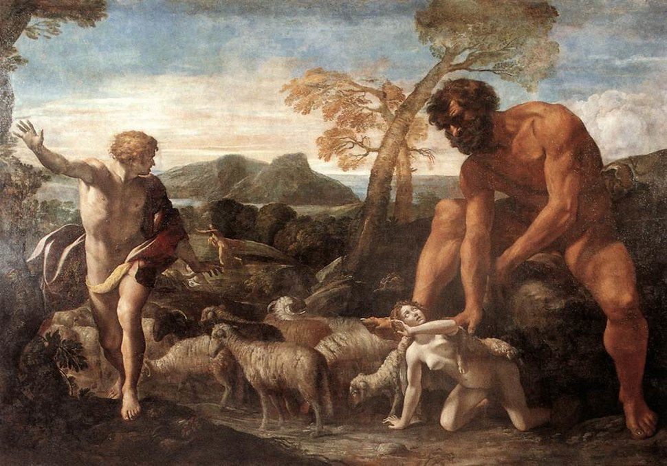 Giovanni Lanfranco - Norandino and Lucina Discovered by the Ogre - WGA12455