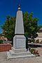 Giroussens - Monument aux morts - Coté gauche - 2016-08-07.jpg