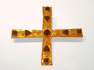 Gisulf I of Friuli - This cross has traditionally been linked to Gisulf.