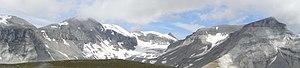 Glarus thrust - Glarus Thrust fault at Piz Segnes