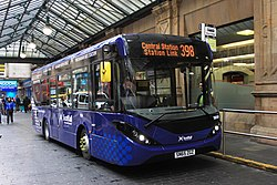 Glasgow Central station - West Coast Motors SN65ZGZ.JPG