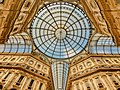 Glass dome in Galleria Vittorio Emmanuele II.jpg