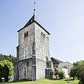 Glockenturm und Kreuzgangbogen 2013 09 05.jpg