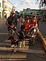 Goat cart with children in Santa Clara, Cuba.jpg