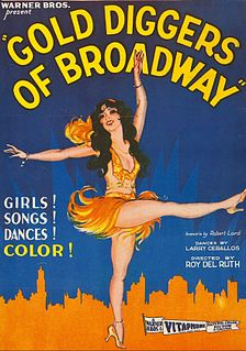 <i>Gold Diggers of Broadway</i> Partially lost 1929 pre-Code American musical film