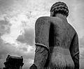 Gomatesvara Statue black.JPG