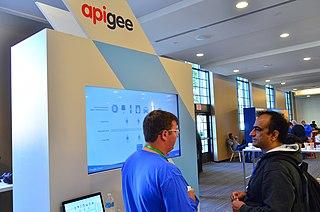Apigee API management tools and predictive analytics softwares provider