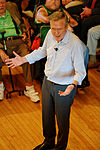 Governor of Florida Jeb Bush, Announcement Tour and Town Hall, Adams Opera House, Derry, New Hampshire by Michael Vadon 49.jpg