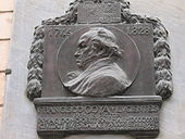 Remembrance plaque for Goya in Bordeaux