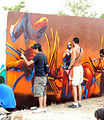 Graffiti en Festimad 2005.jpg