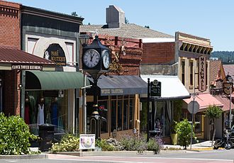 Grass Valley, California - Shops on Main Street