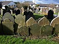 Gravestones, St Stephen's Church, Saltash - geograph.org.uk - 1193875.jpg