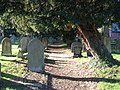 Graveyard at Dodleston St Mary - geograph.org.uk - 621684.jpg