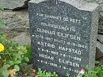 Gravstøtte - Gunnar Eilifsen - Nordstrand Kirkegård.jpg