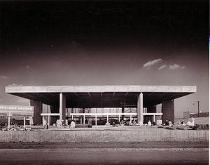 Paffard Keatinge-Clay - Great Western Savings and Loan facade.