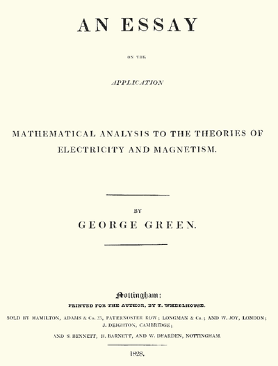 an essay on the application of mathematical analysis Page 2 - there are data which, though not numerical are quantitative—for example, that a quantity is greater or less than another, increases or decreases, is positive or negative, a maximum or minimum,, —there mathematical reasoning is possible and may be indispensable.