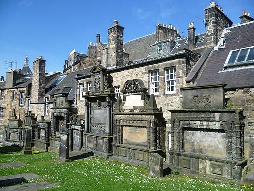 Greyfriars Kirkyard, east wall