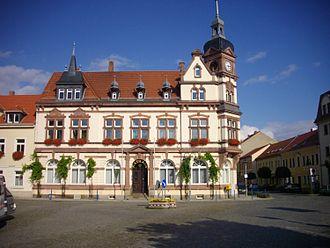 Groitzsch - Town hall