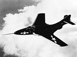Grumman F9F-6 in flight 1952.JPG