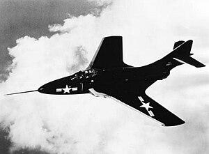 Grumman F-9 Cougar - Grumman F9F-6 Cougar, 1952