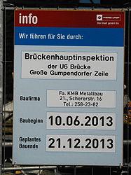 GuentherZ 2013-06-13 0356 Wien15 Linke Wienzeile Bruecken Gumpendorfer Zeile-Wienfluss Tafel Hauptinspektion.JPG