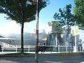 Guggenheim Bilbao desde coche.JPG