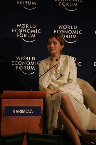 Gulnara Karimova - Image: Gulnora I. Karimova World Economic Forum on the Middle East 2009