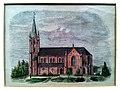 Gustav-Adolf-Kirche Meppen Ansicht 1858.jpg