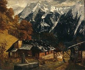 An Alpine Scene