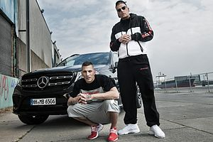 Bonez MC - Bonez MC (right) and Gzuz