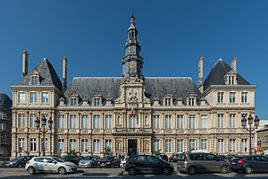 Reims - City hall (hôtel de ville)