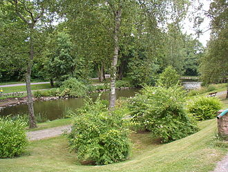 Höör Municipality - One of the ponds of the town