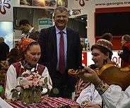 HE Ambassador Ovidiu Dranga, HE Ionuț Silaghi de Oaș and professor Maria Tripon