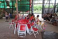 HK 西營盤 Sai Ying Pun 香港 中山紀念公園 Dr Sun Yat Sen Memorial Park 香港盂蘭勝會 Ghost Yu Lan Festival theatre stage staff 03.jpg