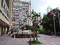 HK CWB 銅鑼灣 Causeway Bay 高士威道 Road 香港中央圖書館 HKCL front terrace August 2018 SSG 01.jpg